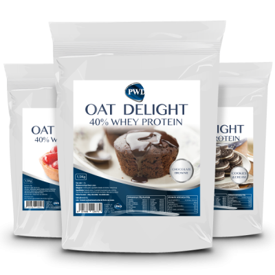 Oat Delight 40% Whey Protein 1,5Kg Chocolate – Power Diet