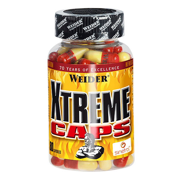 Xtreme-caps termogénico Weider